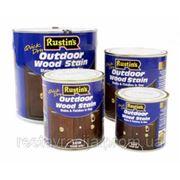 Цветной лак для внешних работ, махагон Q/D Outdoor Wood Stain Gloss Mahogany, 1 litre фото
