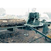 Распиловка лесоматериалов. фото