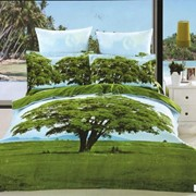 Комплект постельного белья ARYA 3D Foresta сатин полуторный 1001002 фото