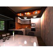 Дизайн кухни столовой студии фото