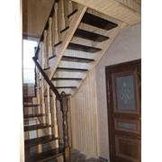 Изготовление деревянных лестниц фото