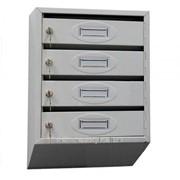 Ящик почтовый совмещенный ПЯС-4 фото