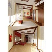 Авторский дизайн интерьеров. Проект дизайна интерьера дома. Восточная комната фото
