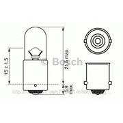 Лампа 24V Т4W24V 4W ВА9s (пр-во Bosch) фото