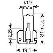 Лампа H2 24V 70W X511 (пр-во OSRAM) фото