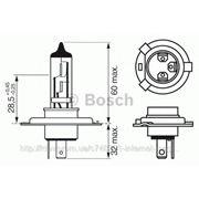 Лампа H4 24V 75/70W P43t TRUCKLIGHT (пр-во BOSCH) фото