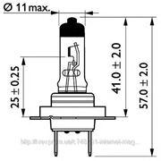 Лампа H7 24V 70W PX26d MasterDuty (пр-во Philips) фото