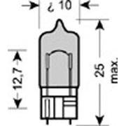 Лампа вспомогательного освещения W5W 12V 5W W2.1x9.5d Cool Blue Intense (пр-во OSRAM) фото