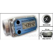 Счетчик турбинный электронный с ЖК-дисплеем, для топлива и масел TF-1 (25мм) фото