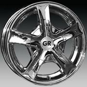 Диск автомобильный GR A529 55*13 4*98*100 ET38 731C (хром) Автодиск фото