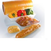 Пищевая стрейч-пленка ПВХ фото
