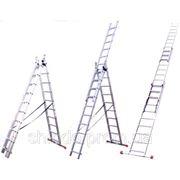 Универсальные лестницы ITOSS 3х секционные фото