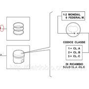 Кольца поршневые 82.00 2.0*2.0*2.0 STD 1.9JTD-1.9MJTD Doblo(4cyl) 71718185 фото