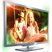 "Телевизор 55"" LED PHILIPS 55PFL7606K 3D 1920x1080, 400Гц, HDMI, USB(JPEG, MP3, WMA), Vesa (600x400) фото"