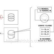 Кольца поршневые 82.00 2.5*2.0*2.0 STD 1.9D Doblo 2000-2005(4cyl) 71718185 фото