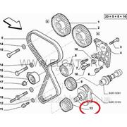 Шестерня коленвала 1.6 16v Doblo 46769298 фото