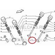 Клапан выпускной 1.6 16V Doblo 46413807 фото