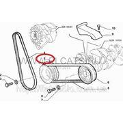 Шкив демфирующий ручейкового ремня 1.4 8v Doblo 2005-2009 55181200 (55181189) фото