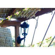 Освещение дорожек в саду. Организация паркового освещения. фото