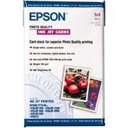 Бумага epson Photo Quality Ink Jet Card 5x8 фото