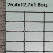 Сварная сетка оцинкованная 25,4*12,7*1,6 мм (цинка до 50 г/м2) фото