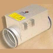 Электрические и водяные канальные нагреватели / CV электрические круглые фото