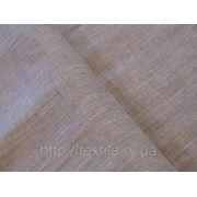 Ткань льняная скатертная серая арт.08с232 фото