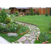 Дорожки в саду мощение дорожек фото