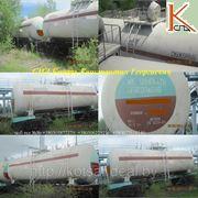 Вагон - цистерна для сжиженного газа модель : 15 - 1407 ; 15 - 903 - Р фотография