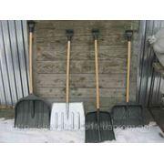 Лопата снегоуборочная фото