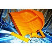 Лопата снегоуборочная WAVE 440х460 mm в комплекте с ручкой и накладкой - ISO 9001 фото