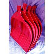 Лопаты WAVE 440х460 mm снегоуборочные по 5 шт в связке - ISO 9001 фото