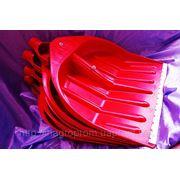 Лопаты WAVE 440х460 mm для уборки снега по 5 шт в связке - ISO 9001 фото