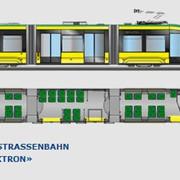 3 Sektionsstraßenbahn T3L44 «Еlektron»