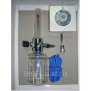 Увлажнитель кислорода Y-002 с расходомером и настенным газовым клапаном фото