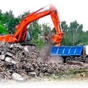 Уборка и вывоз строительного мусора фото