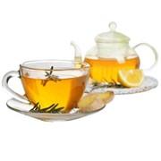 Доставка горячих напитков - Чай с апельсином и розмарином фото