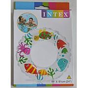 "Круг для плавания ""Яркий"" INTEX , от 6 до 10 лет, 61 см фото"