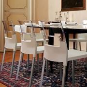 Современный стул из термопластика  фото