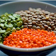 GREEN / RED LENTILS.
