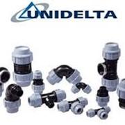 Компрессионные зажимные фитинги Unidelta