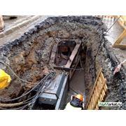 бестраншейная замена (реновация) трубопроводов фото