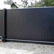 Ворота в дом фото