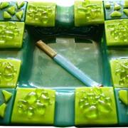 Пепельница (техника фьюзинг) фото
