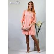 Платье 4503 Креветковый цвет фото