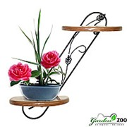 Полка для цветов настенная 13-202 фото