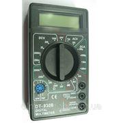 Мультиметр - электрический тестер DT830 фото