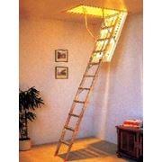 Чердачные лестницы алюминиевые фото
