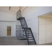 Металличесике лестницы.