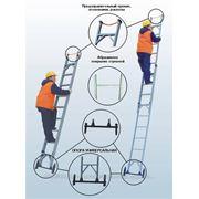 Лестницы изолирующие стеклопластиковые раздвижные